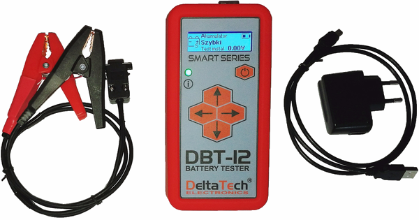 Tester akumulatorów DBT-12