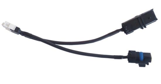 Kabel przejściówka czujnik ciśnienia (system Delphi) - analizator sygnału systemu wtrysku COMMON