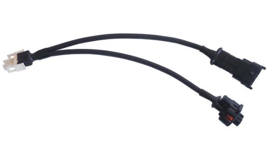 Kabel przejściówka czujnik ciśnienia (system Bosch typ 1) - analizator sygnału systemu wtrysku C