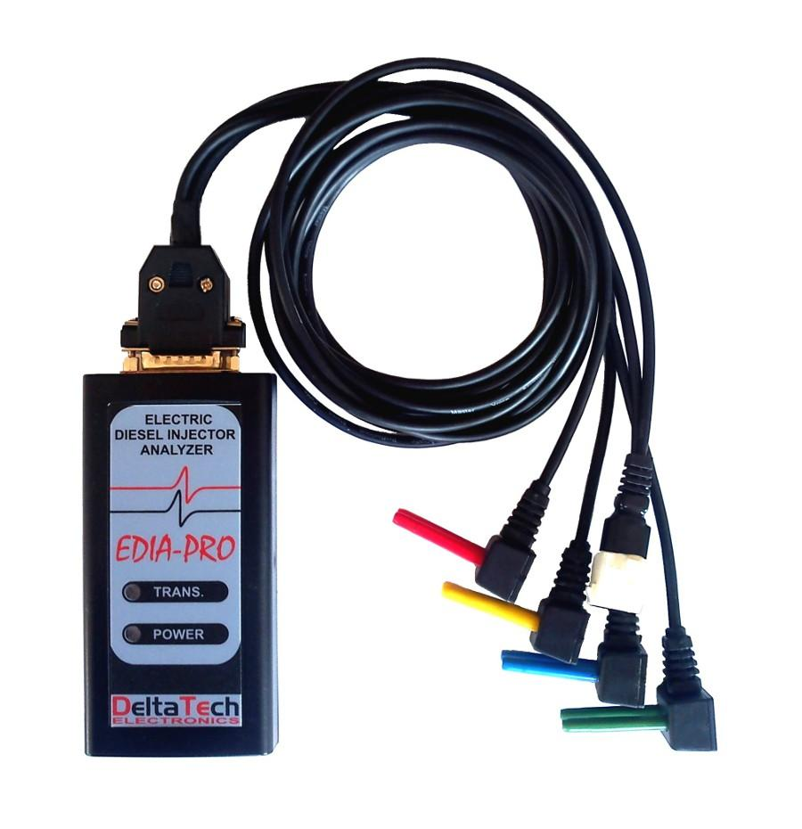 EDIA-PRO Analizator sygnałów systemu wtrysku COMMON RAIL